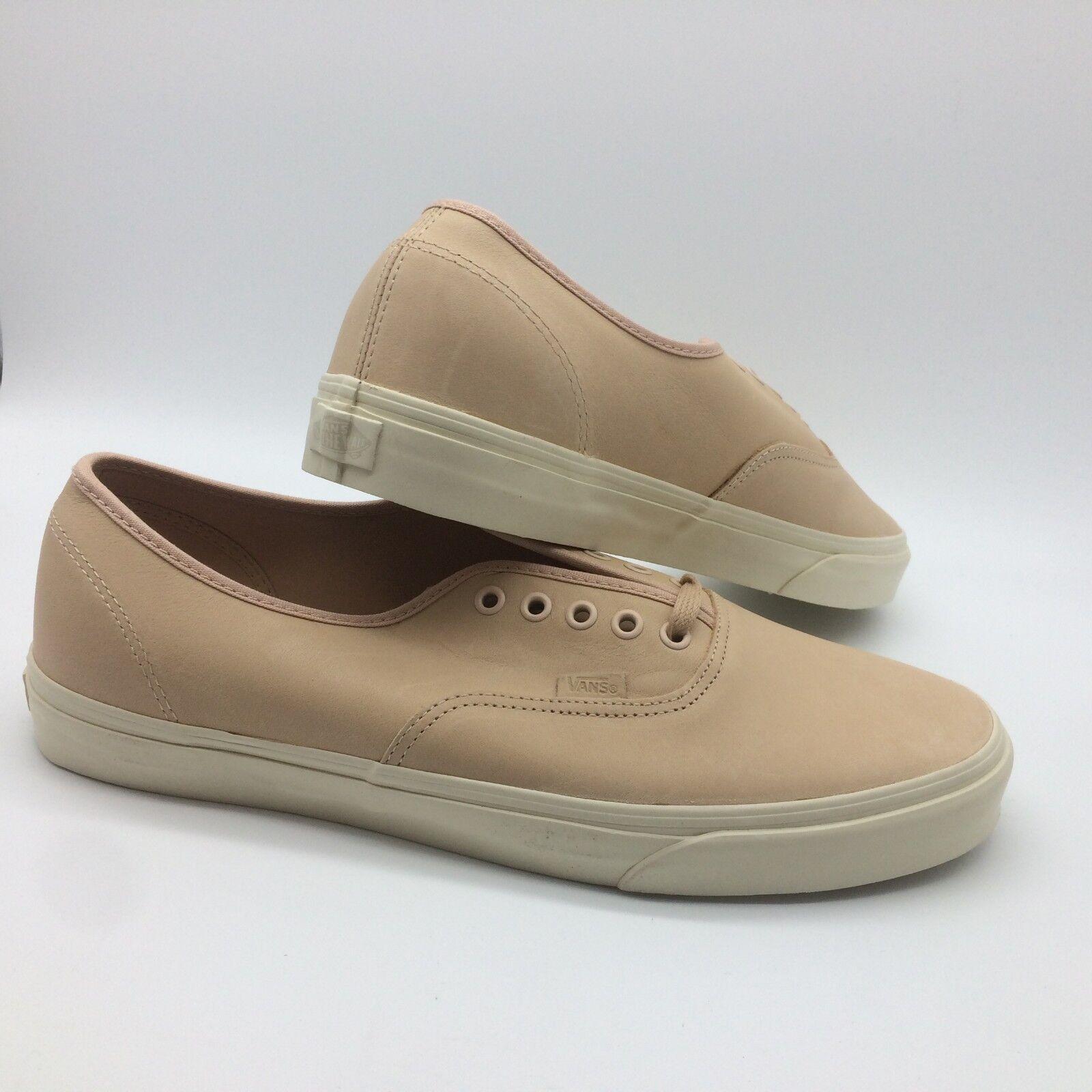 Vans Men's shoes  Authentic  DX (Veggie Tan Leather) Tan