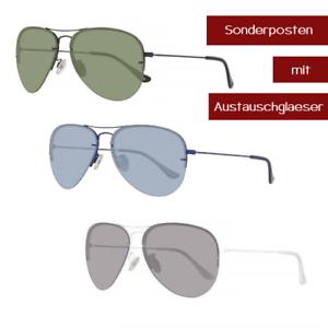 Sonnenbrille Benetton Austauschgläser Unisex Pilotenbrille Mit Be922s dwUpAxq1