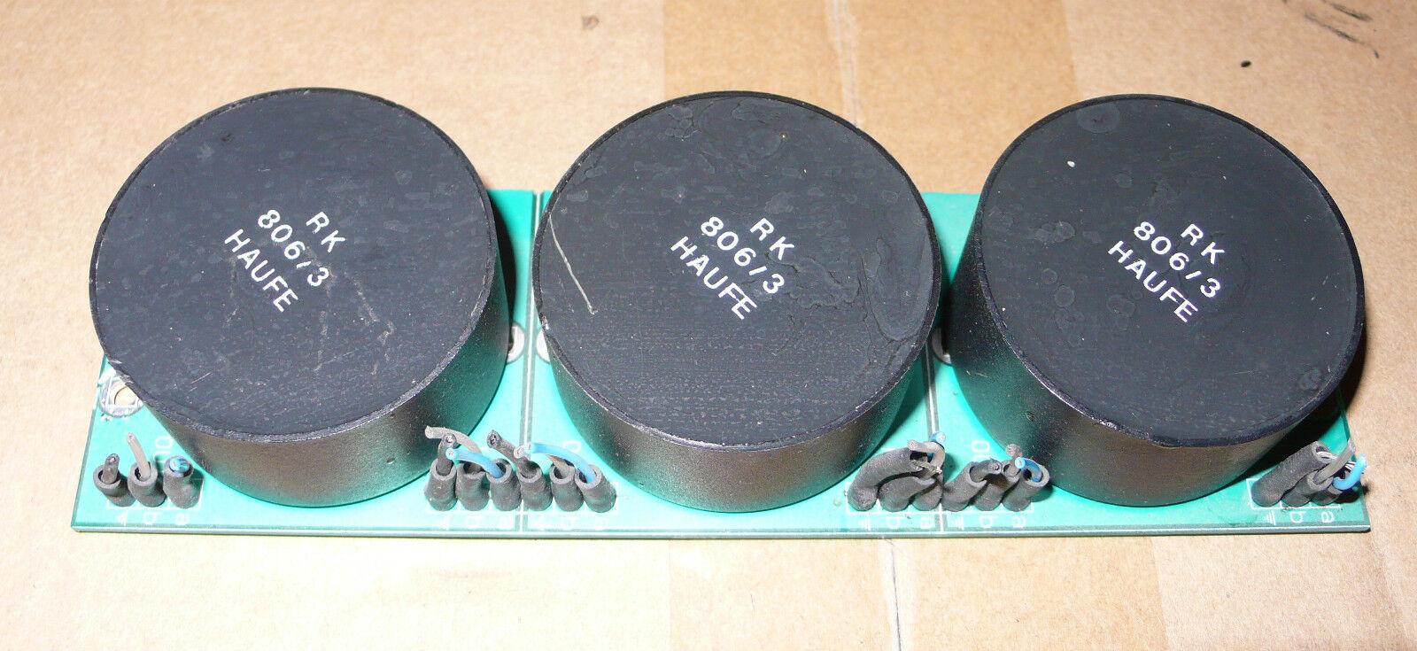 RK 806 3 HAUFE    3 TRANSFOS DE SORTIE AUDIO