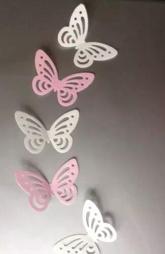 décorations Anniversaires 40 Multi Comestibles Papier de riz//plaquette papillon gâteau Toppers