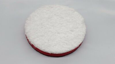 2 pack  3/'/' Inch SM Arnold Red Microfiber Buffing Cutting Pads 43203