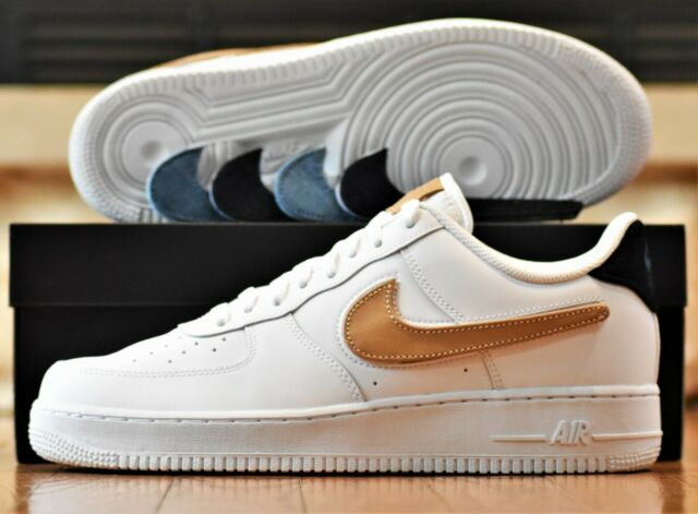 Nike Air Force 1 '07 LV8 3 New Men's AF1 07 Shoes White Customizable Swoosh