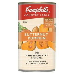 Campbell's Country Ladle Butternut Pumpkin Soup Can 505g