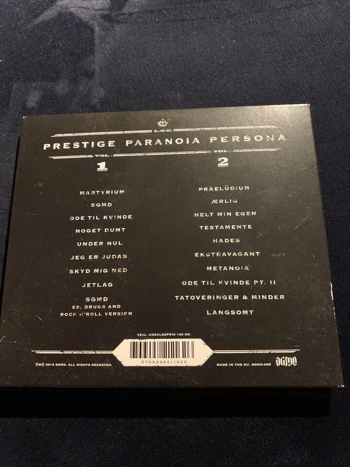 L O C: Prestige paranoia persona, hiphop