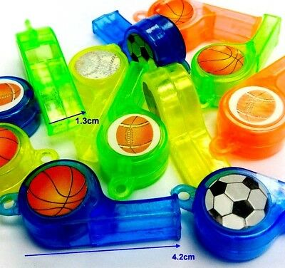 12pc transparent mouth Whistle Pinata Toys Kid party favor gadget giveaways gift