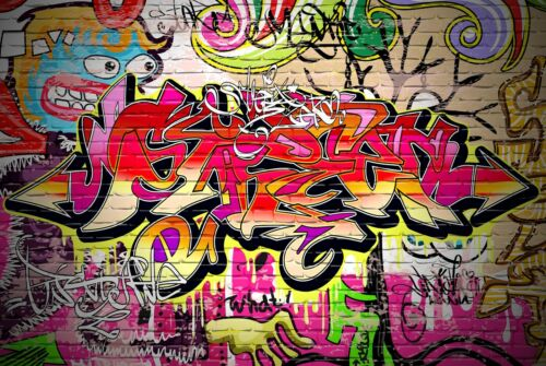 A1Graffiti Wall Poster Art Print 60 x 90cm 180gsm Spray Paint Teen Gift #8692