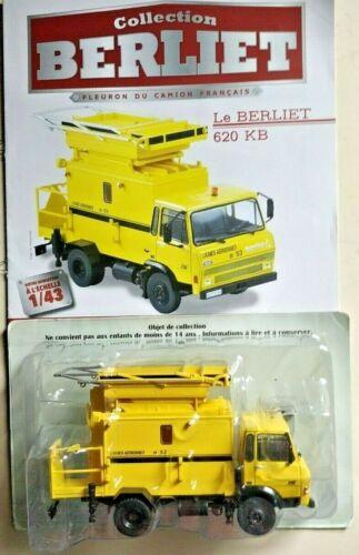 Truck Berliet 620 KB   1:43  New /& Box Diecast model Car miniature