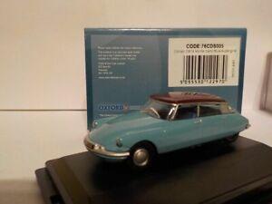 Model-Car-Citroen-DS19-Blue-1-76-New