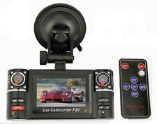"""2.7"""" Dual HD 720P Camera Digital Video Recorder Car DVR 120 Wide Safe Guard"""