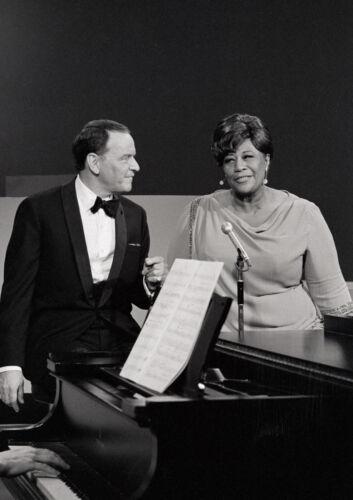 Art Print POSTER Frank Sinatra and Ella Fitzgerald