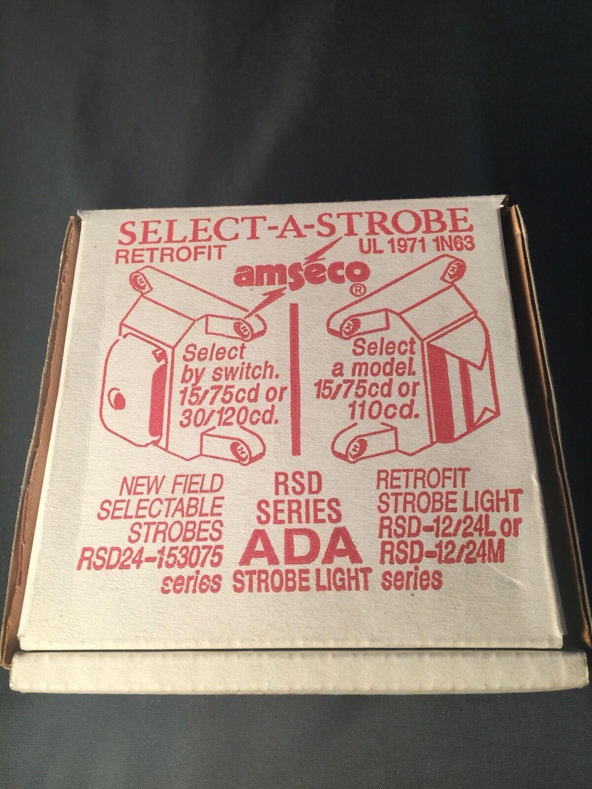 Amseco Potter SL24W-153075R Select-A-Strobe 4560017
