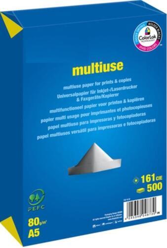 multiuse  80g Druckerpapier  hochweiß  *Maße Kopierpapier A5 ! 148,5 x 210mm*