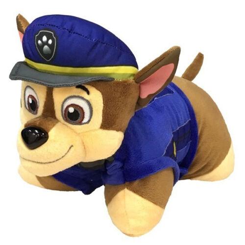 Paw Patrol 2 in 1-Chase-PELUCHE PERSONAGGIO peluche e cuscini Cuscino Bambini Nuovo