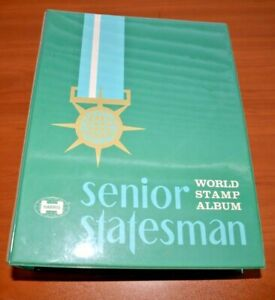 CatalinaStamps-Sr-Statesman-World-Stamp-Album-H-E-Harris-1978-w-2600-Stamps