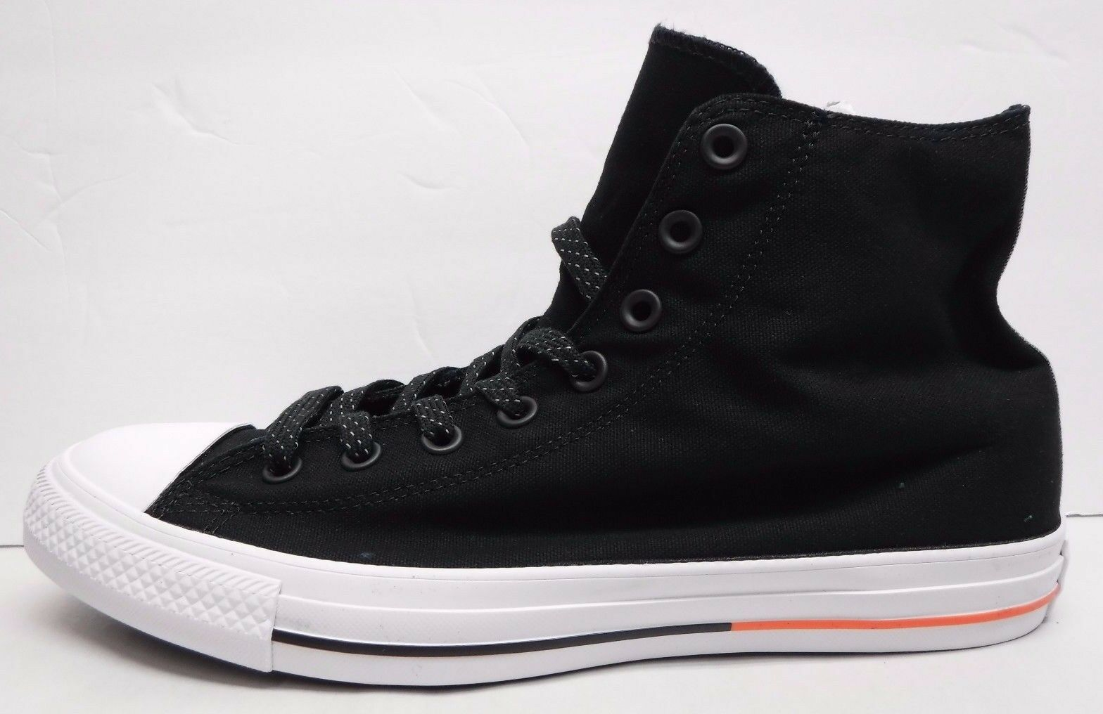 Converse Size 9.5 Black Hi Tops All Star Sneakers New Mens Shoes