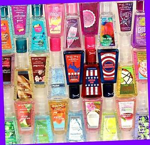 Bath-amp-Body-Works-U-PICK-Antibacterial-Pocketbac-Hand-Gel-Sanitizer-RARE-HTF