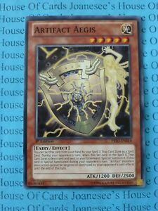 U Artifact Aegis PRIO-EN014 Common Yu-Gi-Oh Card New