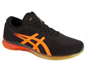Asics GEL-Quantum Infinity Black Orange Mens Neutral Running Shoes ...