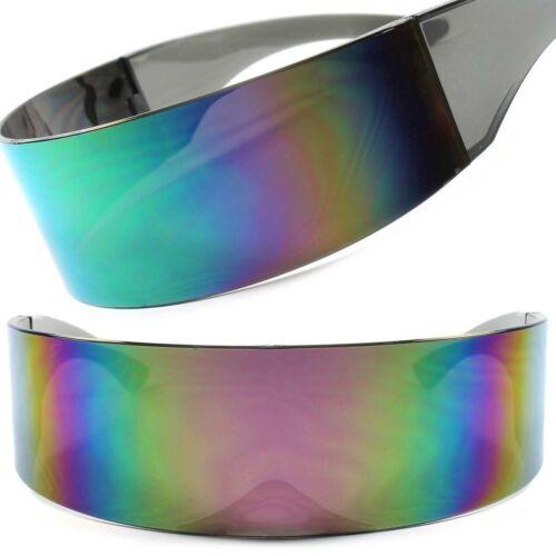Funky Sci-Fi Robotic Star Trek Futuristic Party Cosplay Costume Sunglasses F68