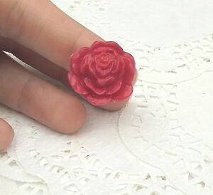 BAGUE-Fleur-en-Fimo-Vernie-Bijou-Neuf-amp-Unique-Taille-Ajustable-idee-Cadeau