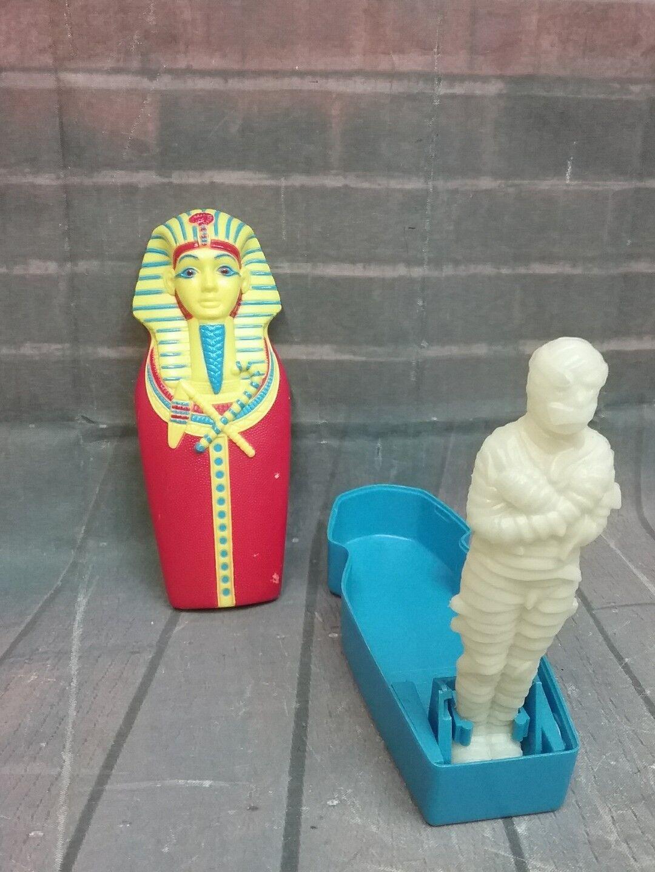 Vintage  - den  fluch der mumie  mami & sarkophag