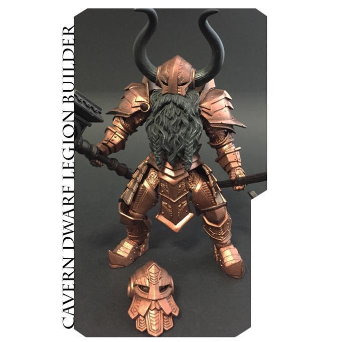 Mythic Legions Advent of Decay Cavern Dwarf Legion Builder  NEW  Horsemen