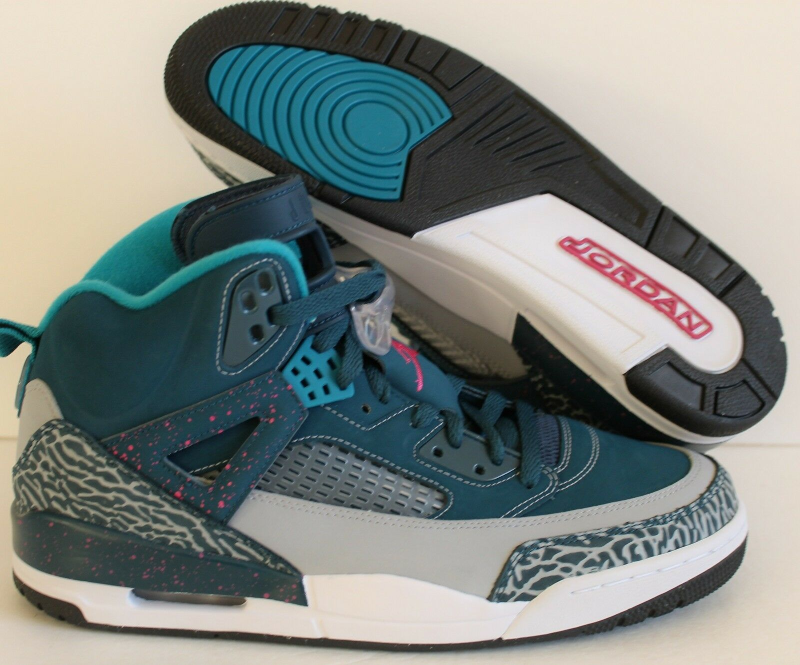 NIKE AIR JORDAN SPIZIKE SPACE rose-Gris Bleu-FSN rose-Gris SPACE SZ 11 [315371-407] 07e123