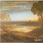 Bingham & Vaughan Williams: Mass, Martin Baker, Westminster Cathed, Very Good CD