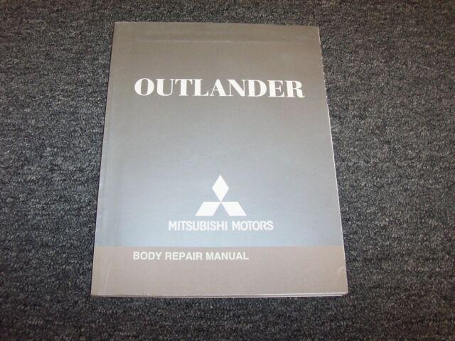 2007 Mitsubishi Outlander Electrical Wiring Diagram Manual