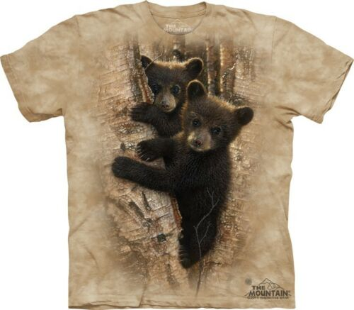 Bears Boy Girl Child Sizes NEW Curious Cubs Kids T-Shirt from The Mountain