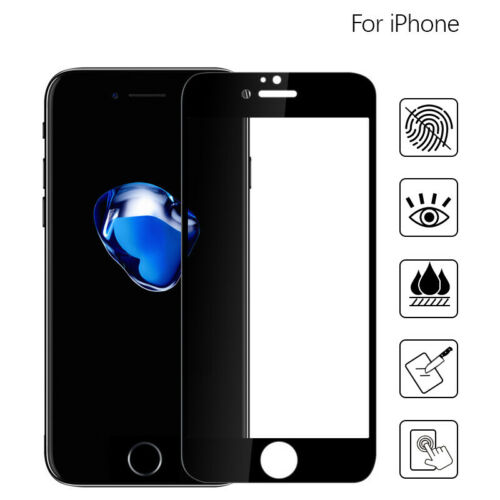 9H Tempered Glass 4D Screen Protector Film For Apple  iPhone 8 7 6 Plus