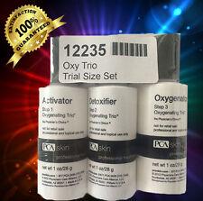 PCA Skin Oxygenating Trio 3 pc Facial kit Anti aging Acne Clarifying facial 1 OZ