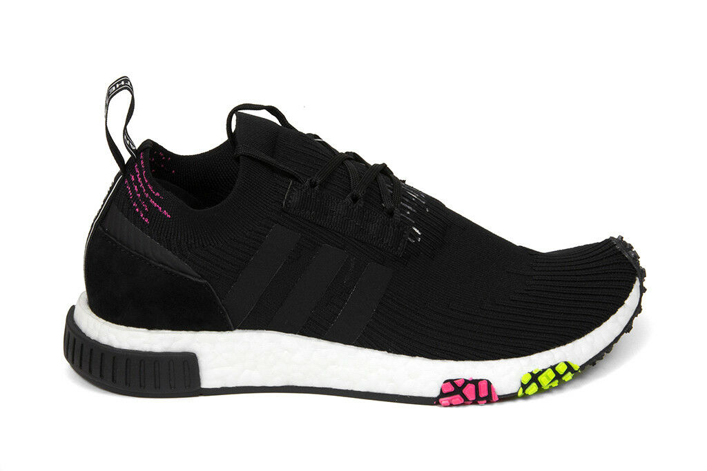 Adidas Originals NMD_Racer Primeknit in Core Noir/Rose CQ2441 Free Shipping