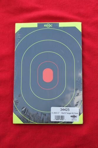 "60  SELF ADHESIVE Shooting Targets E-ZEE-C 10/""X15/"" SILHOUETTE Peel N Stick EZ"