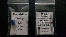 CB RADIO RECEIVE MOD KIT & SUPER MODULATION SWING KIT