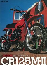 Honda 1976 1977 CR125M side panel decal sticker set RC Works AHRMA CR 125 CR125