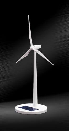 Free Shipping  Desktop Model-Solar Powered Windmills//Wind Turbine/&ABS plastics
