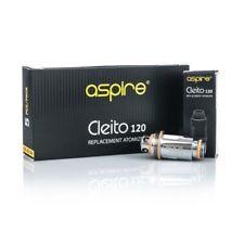 5 x 100 /% Genuine ASPIRE Cleito Replacement Coils 0.4 Ohm Orange RTA Tank 40-60W