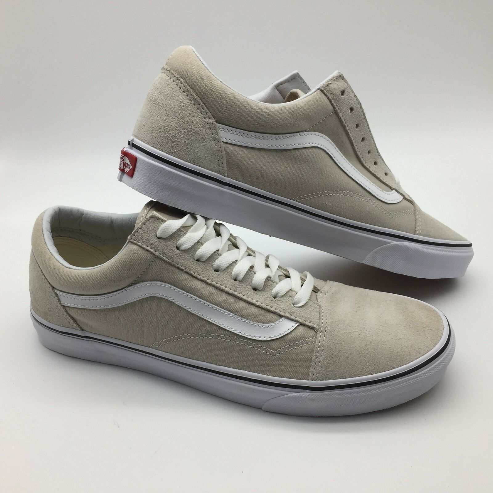 Vans Men's shoes's Old Skool -- Silver.