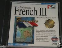 Pro One Multimedia French Iii Achieving Fluency In French Pc Cd-rom Sealed