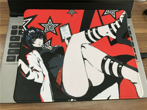 New Anime Persona 5 Mouse Pad Laptop Mice Desk Gaming Play Mat 25x30cm Xmas Gift