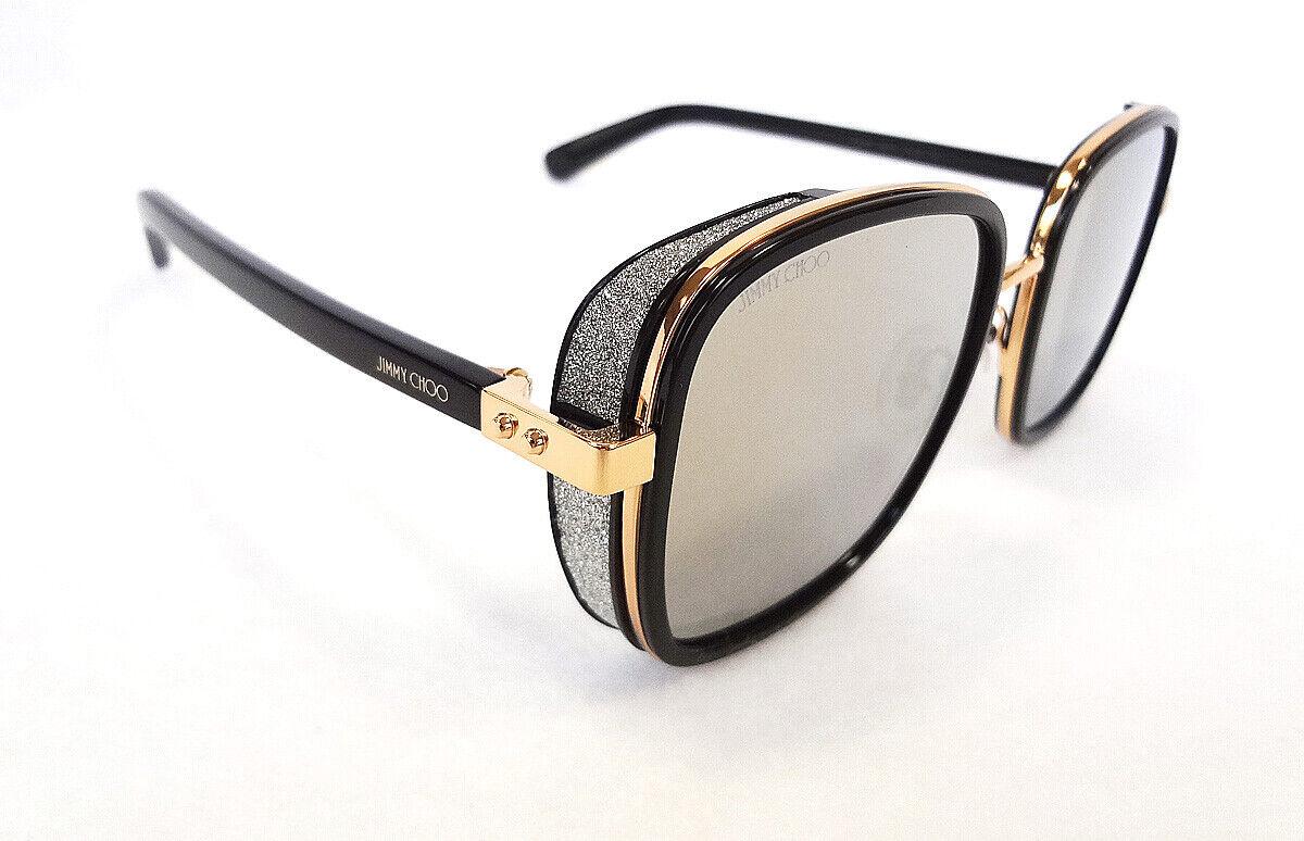 Authentic Jimmy Choo Elva//S-0FG4//HA Brown Gold  Elva s Sunglasses