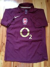 4,8/5 ARSENAL 2005 2006 HIGHBURY ORIGINAL FOOTBALL SOCCER SHIRT JERSEY NIKE