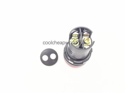 10pcs Air Conditionné//courant continu 24 V 22 mm Vert DEL Indicateur de puissance Signal Lumière pilote Lampe AD16-22D