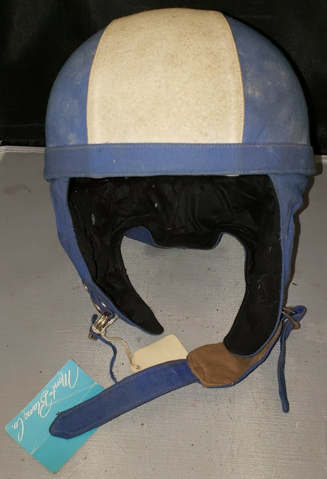 Rare 1967Gant Gamet-Genoski Ski HelmetMont whiteCo. No.600  New with tags