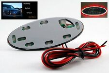 """Red LED Lo-glow light Assessory for your 3.5"""" Wide Ford Emblem Badge"""