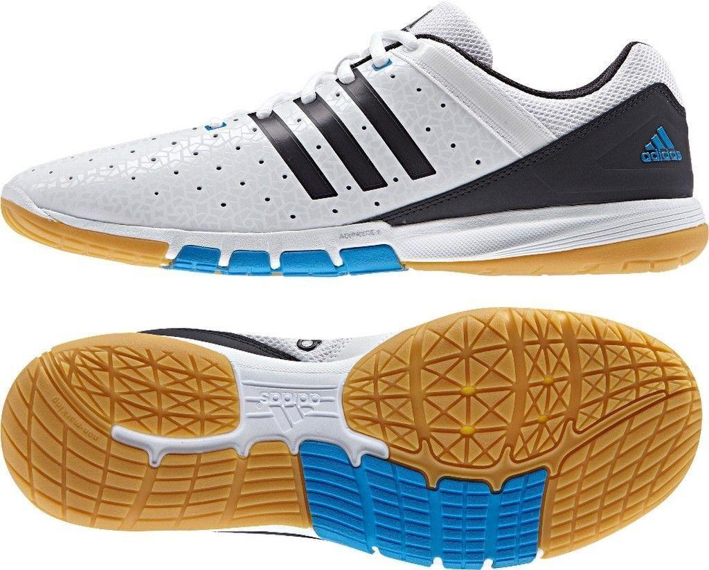 Adidas Courtblast Elite TT-Schuh weiß blau   NEU+OVP