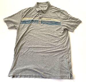Travis-Mathew-Golf-Sports-Polo-Short-Sleeve-Shirt-Mens-Size-Large-L