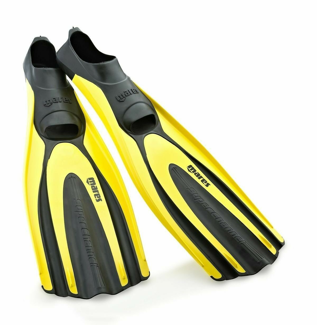 Mares Avanti Super Channel Full Foot Fins, Mares Comfort Scuba Diving Fin - NEW