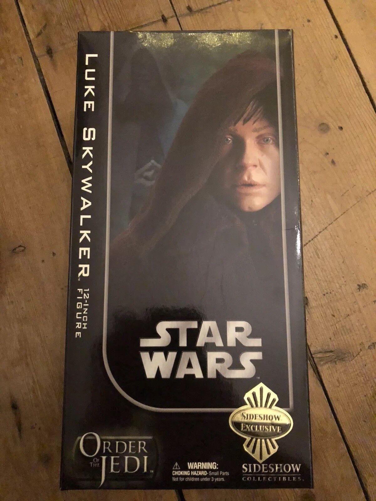 Sideshow Star Wars Order Of The Jedi Luke Skywalker Jedi Knight Exclusive C1084